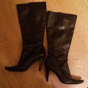 Marc Fisher Leather Knee High Boots